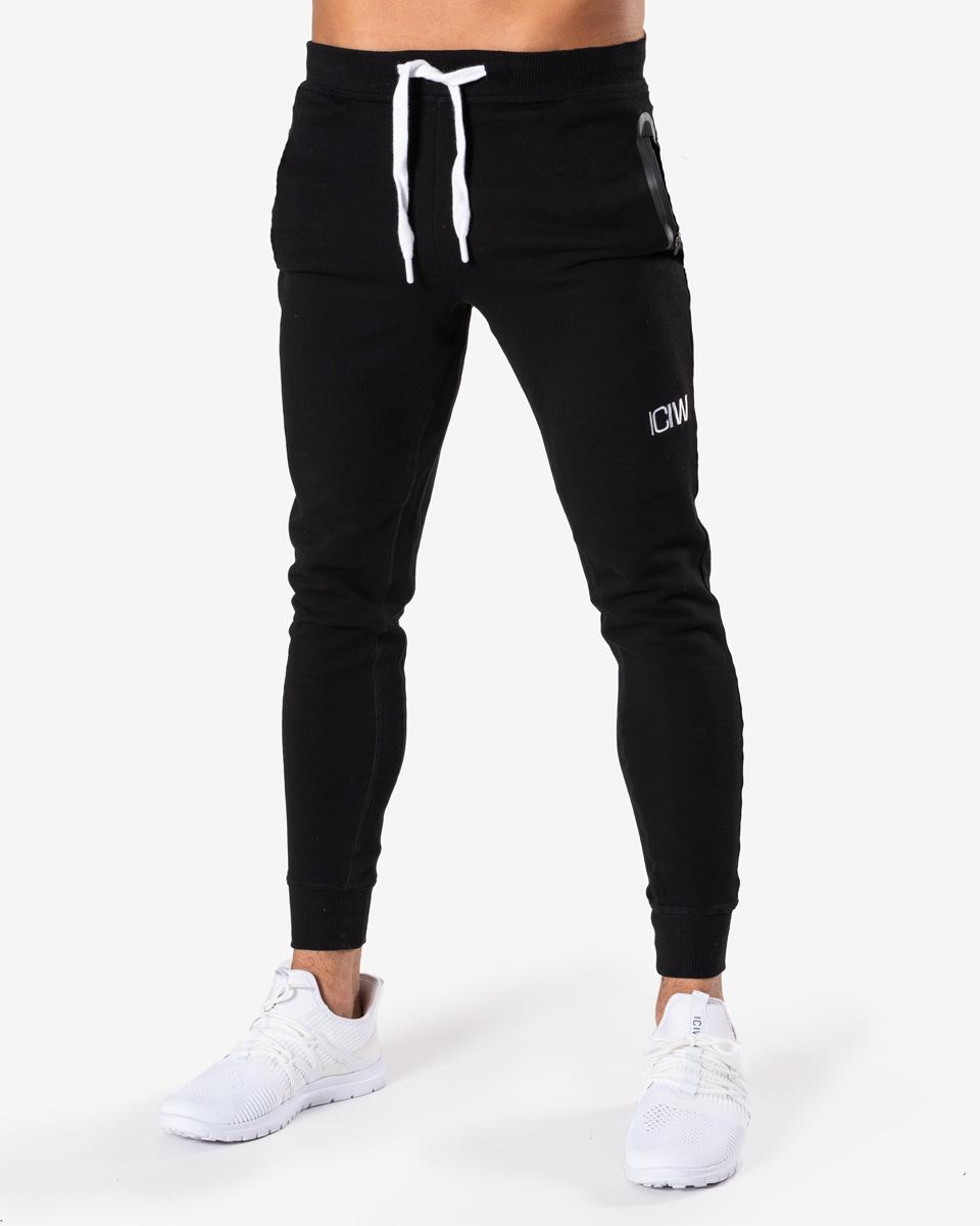 Workout Pants Black Men
