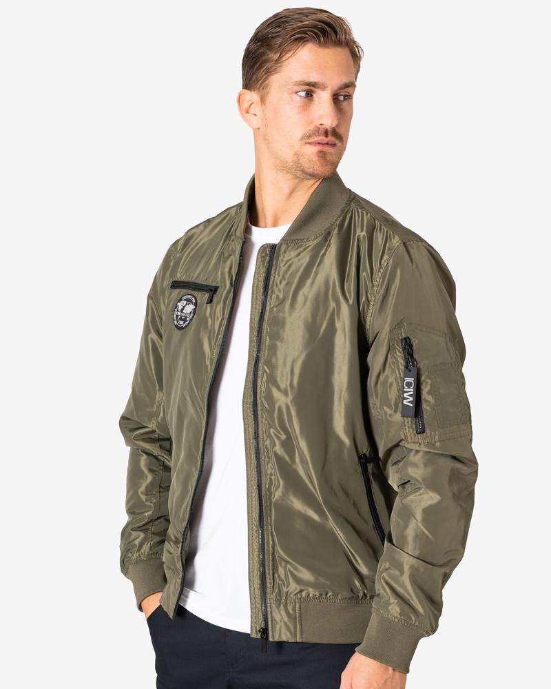 Lifestyle Bomber Jacket Army Green Men