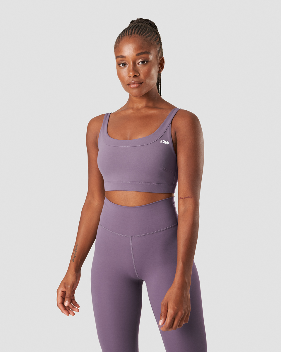 Nimble Sports Bra Faded Violet
