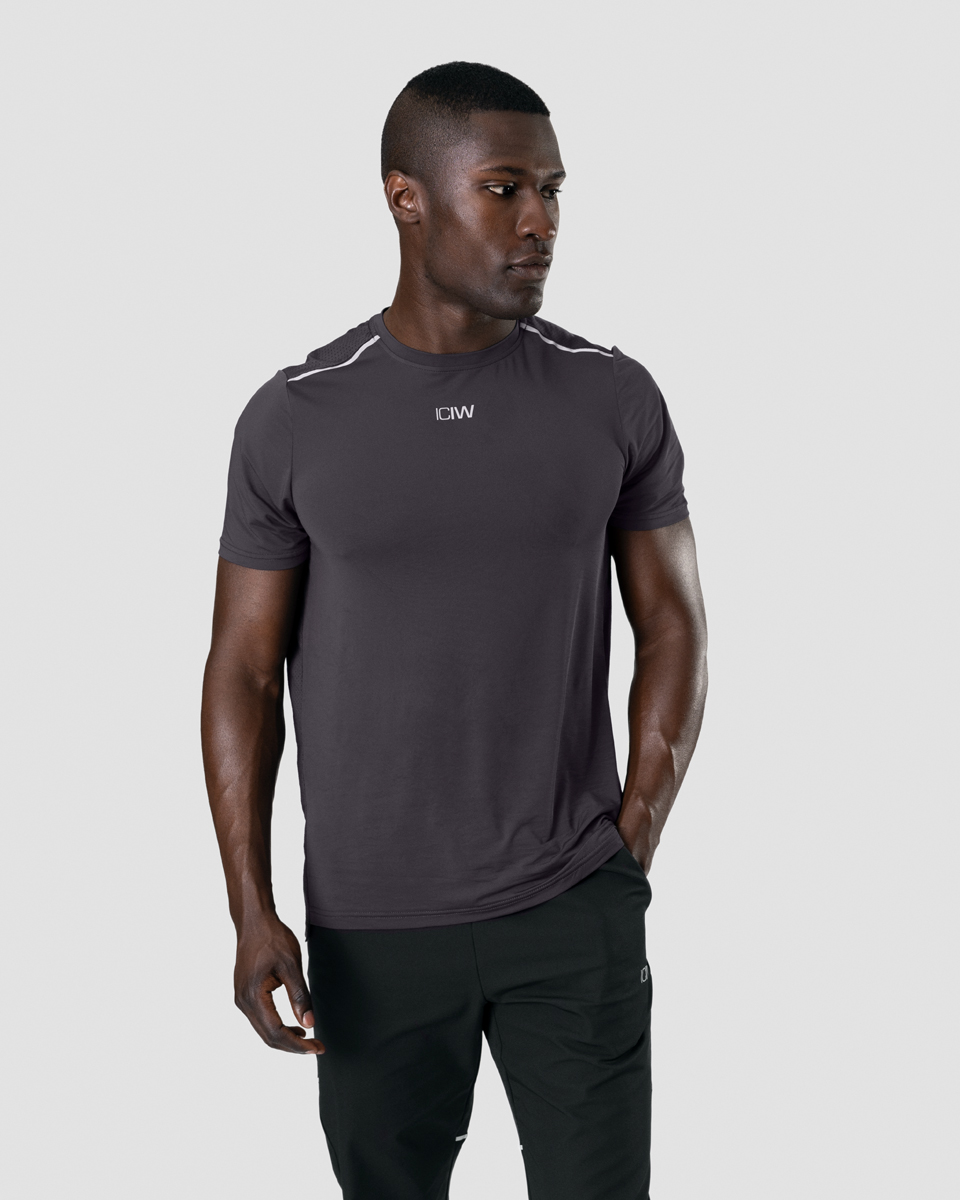 Lightweight Training T-shirt Graphite Men
