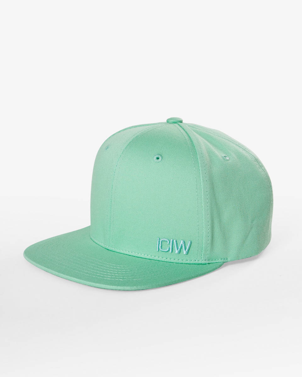 Clean Snapback Cap Lime Green
