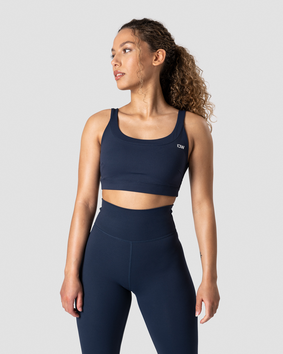Nimble Sports Bra Navy Wmn