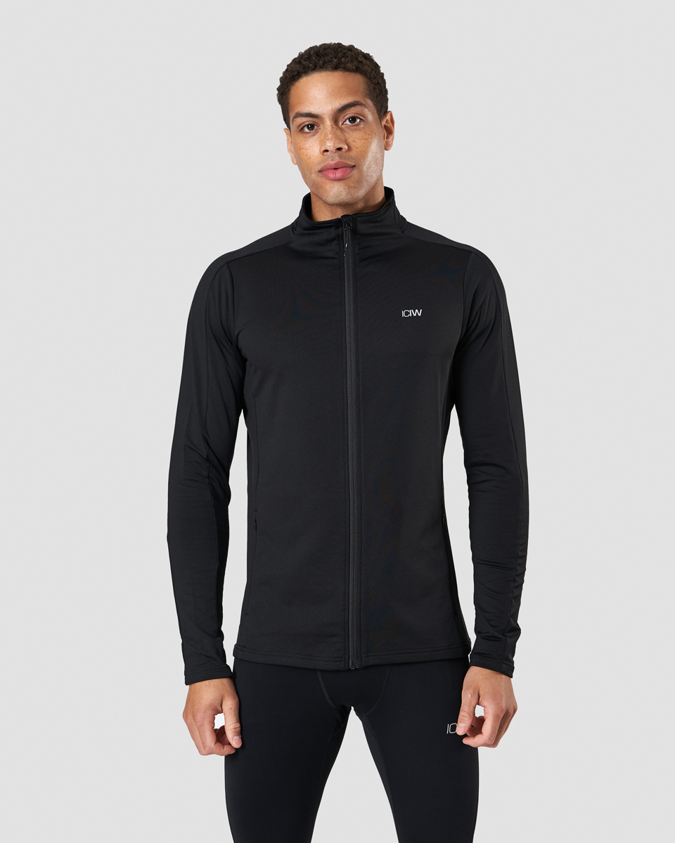 Outdoor Training Fleece Zip Black