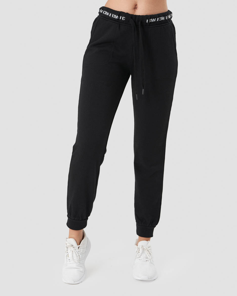 Chill Out Sweatpants Black Wmn