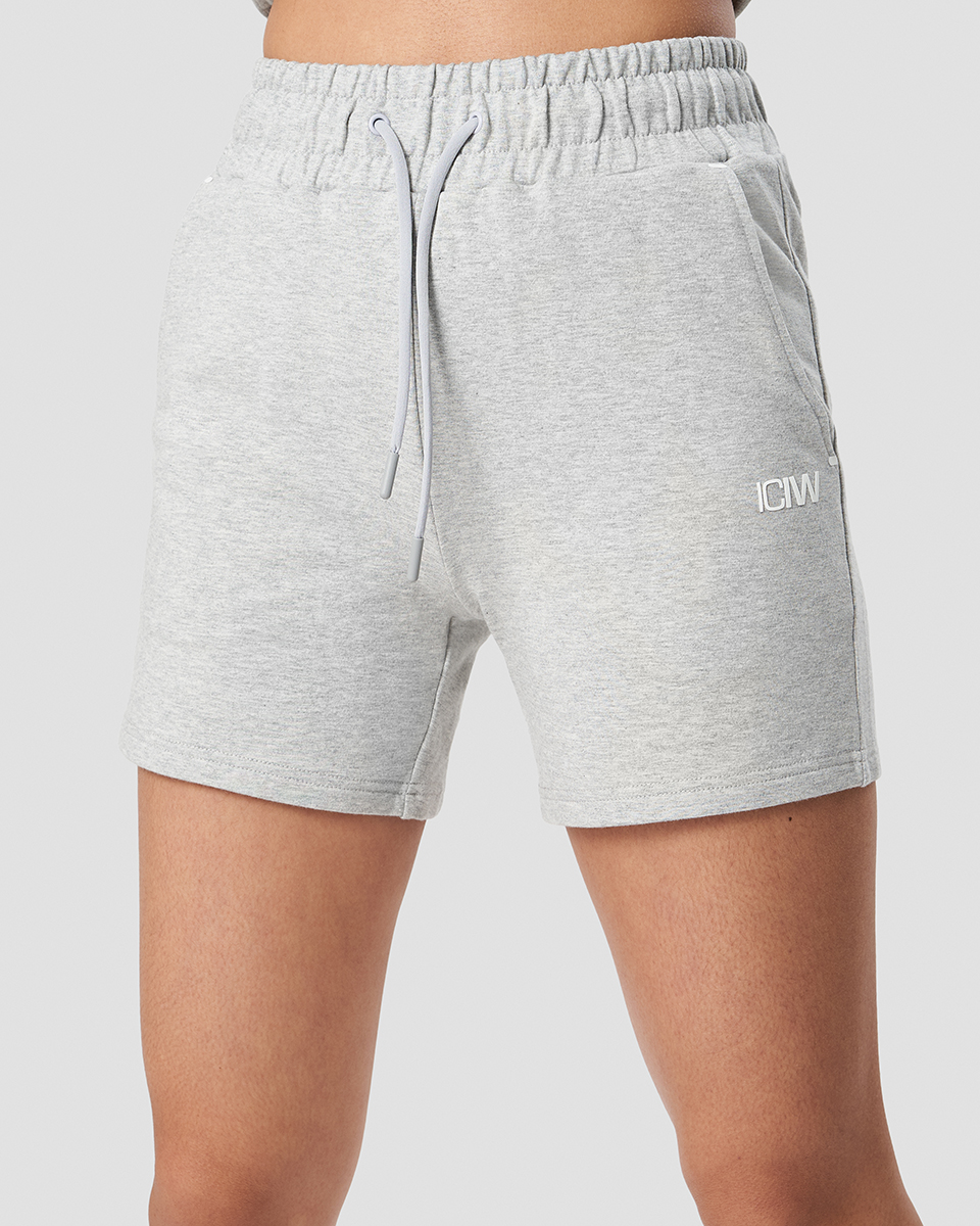 Sweatshorts Light Grey Wmn