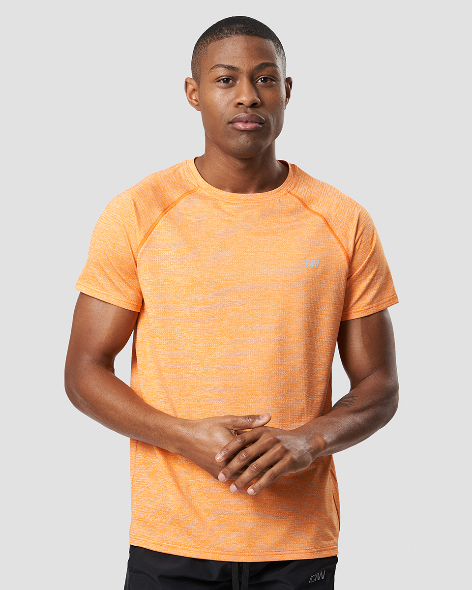 Training Mesh T-shirt v2 Fire Orange Men
