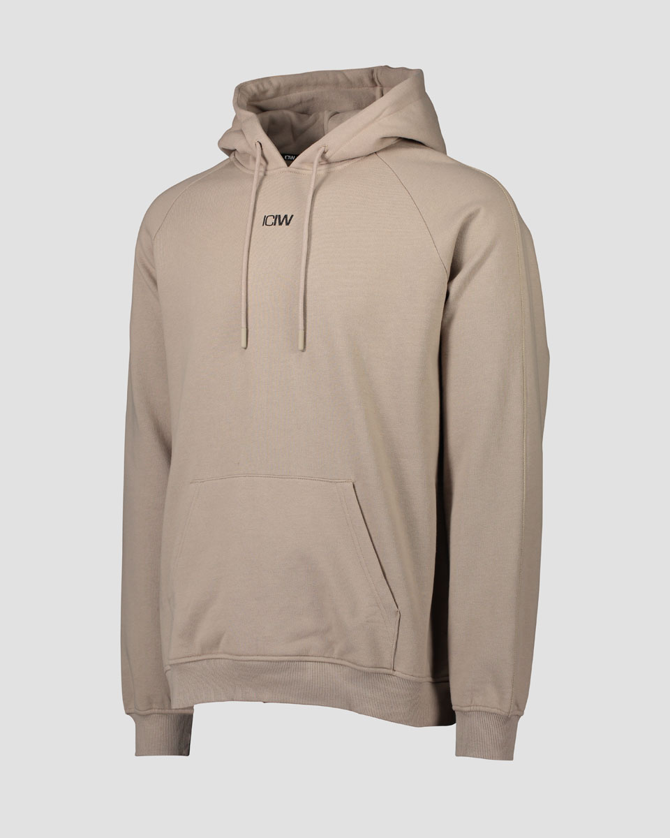 Essential Hoodie Loose Fit Sand Men