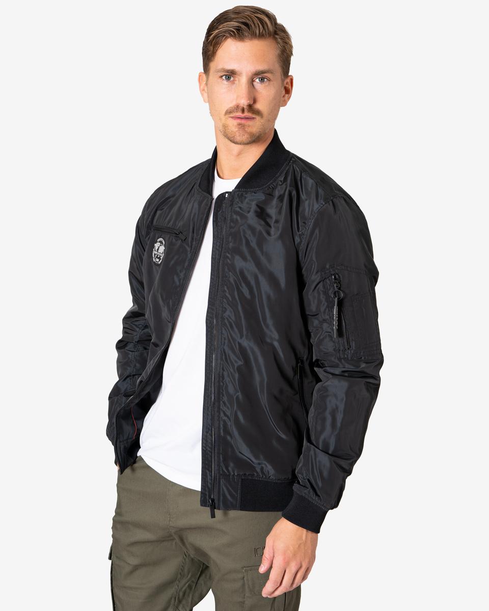 Bomber Jacket In Black