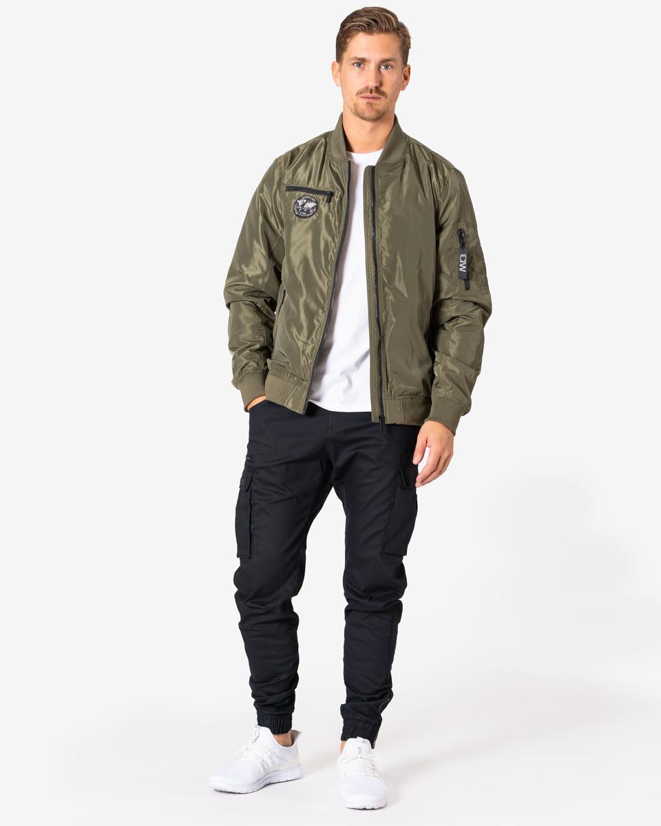 Lifestyle Bomber Jacket Army Green Men S
